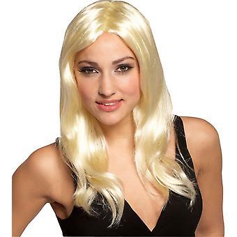 Glamour tyttö blondi Peruke
