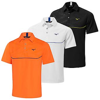 Mizuno Herren Solar Cut Panel Golf Polo Shirt