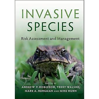 Invasive Species by Andrew Robinson