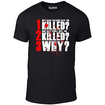Män ' s den 3 frågor t-shirt