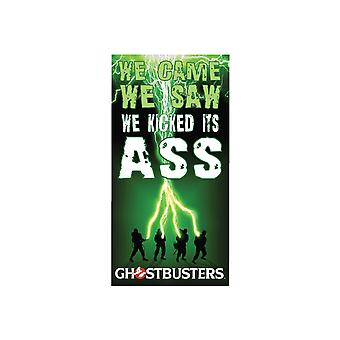 We Kicked It's Ass Beach Towel from Ghostbusters