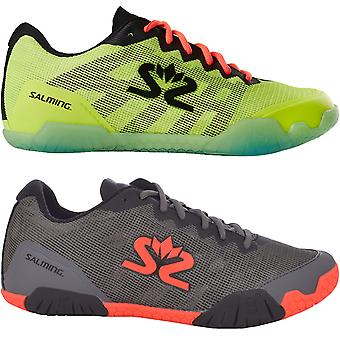 Salming Mens Hawk Lace Up Sports Indoor Court Squash Tennis Badminton Trainers