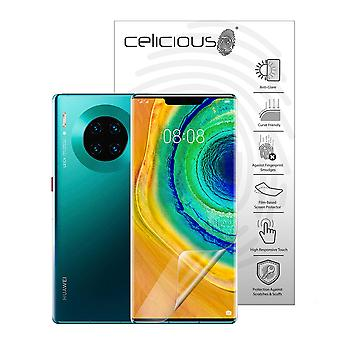 Celicious Matte Flex Anti-Glare 3D Screen Protector Film Compatible with Huawei Mate 30 Pro [Pack of 3]