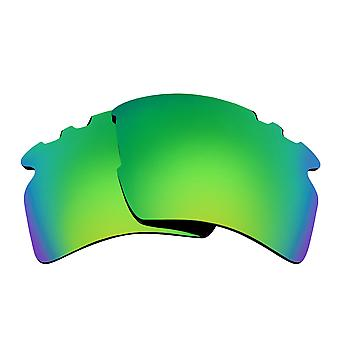 Polarized Replacement Lenses for Oakley Vented Flak 2.0 XL Sunglasses Green Anti-Scratch Anti-Glare UV400 by SeekOptics