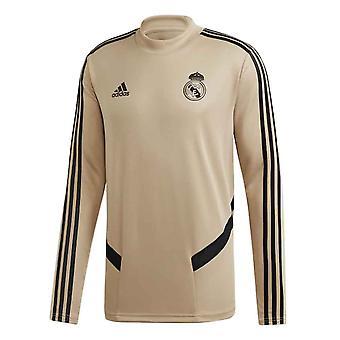 2019-2020 Real Madrid Adidas Training Top (Gold)