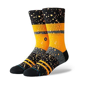 Stance Nero Crew Socks in Orange