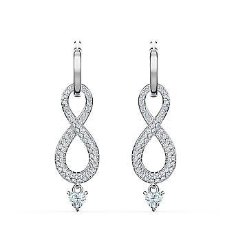 Swarovski örhängen 5520578-silver örhängen och oändlig Women ' s Shining Stone
