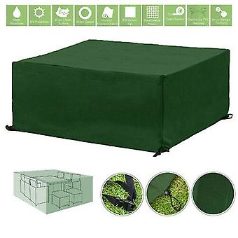 Groene 10 Seater Cube Outdoor Waterdichte Tuin Patio Meubelcover Protector
