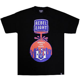 Rebel8 Cover The 8 T-Shirt Black