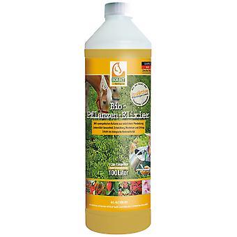HOTREGA® HORSiT Organic Plant Elixir, 1 litre bottle