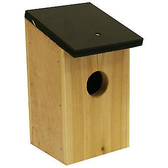 BirdBox Garten traditionellen hölzernen Vogel Verschachtelung Box-Set 1, 2, 4 oder 8