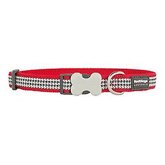 Röd Dingo hund krage Fang den röd (hund, krage, leda och selar, krage)