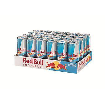 Red Bull Sugar Free Energy Drink-( 250 Ml X 24 Lattine )