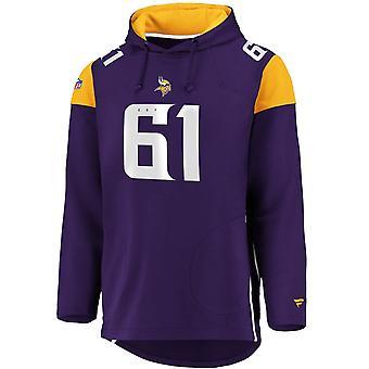 Iconic Franchise Long Hoodie - NFL Minnesota Vikings