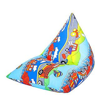 Bereit Steady Bed Kinder Kinder Pyramide geformt Bean Bag | Bequeme Kleinkind Möbel | Soft Child Safe Lounger Sitz Spielzimmer (Transport)