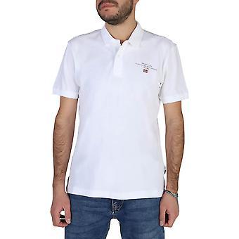 Napapijri Original Men Spring/Summer Polo - White Color 39737