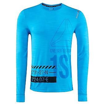 Reebok One Series Running Activchill AX9513 universal ganzjährig Herren T-shirt