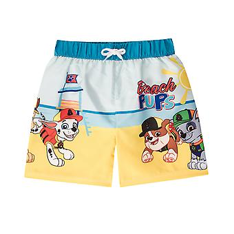 PAW Patrol Rubble Chase Marshall Official Gift Boys Kids Swim Board Shorts