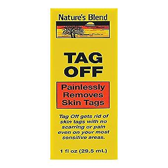 Nature's blend tag off liquid, 1 oz
