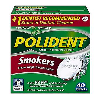 Polident smokers, tablets, 40 ea