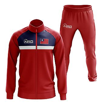 Taiwan Concept Football Tracksuit (Red)