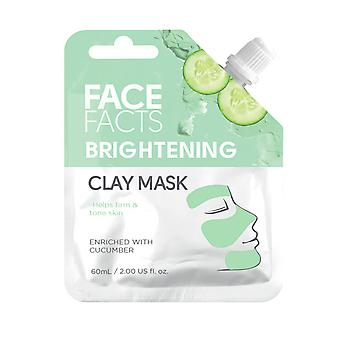 Face Facts Clay Face Mask ~ Brightening