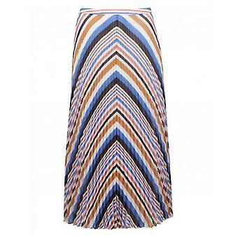 Boss Casual Bareny Striped Midi Skirt