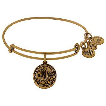 Alex and Ani Godmother Charm Bangle Bracelet 2016 - Rafaelian Gold - A16EB61RG