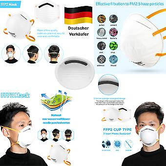 2x MEIXIN High Quality Medical Breath Protection Mask Respiratory Mask FFP2 Protection Mask Accessories New