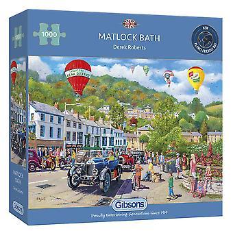 Gibsons Jigsaw Puzzle - Matlock Bath, 1000pc