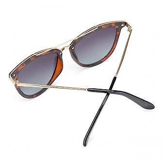 Sonnenbrillen  Damen Miku braun/gold