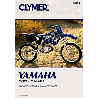 Yamaha Yz125 1994-2001 by Haynes - 9780892878390 Book