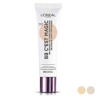 Crema Antioxidante Crema Bb C'est Magig L'Maquillaje Oreal (30 ml)/04-medium