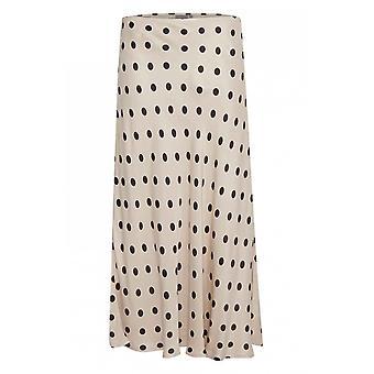 b.young Mid Length Spot Print Skirt