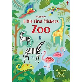 Little First Stickers Zoo by Holly Bathie