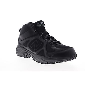New Balance 481V3  Mens Black Mesh Leather Athletic Running Shoes
