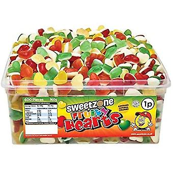 SweetZone Fruity Hearts (600) pieces 960g