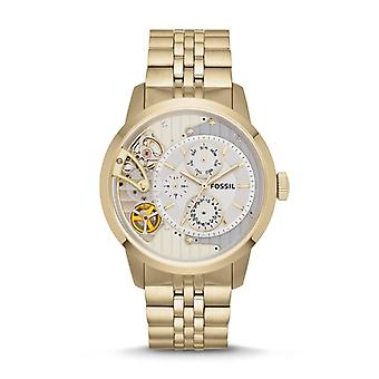 Fossil ME1137 Multi-Function Exposed Gold Tone Men's Watch