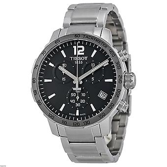 Tissot T095.417.11.067.00 Quickster Chronograph Dial Stainless Steel Men's Watch