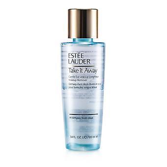 Estee Lauder wegnehmen Gentle Eye und Lip Makeup Remover Longwear (alle Hauttypen) 100 ml / 3,4 Unzen
