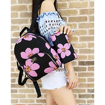 Kate spade dawn grand flora bradley backpack + large floral neda wallet