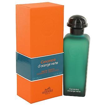 Eau D'orange Verte Eau De Toilette Spray Concentre (Unisex) By Hermes 3.4 oz Eau De Toilette Spray Concentre