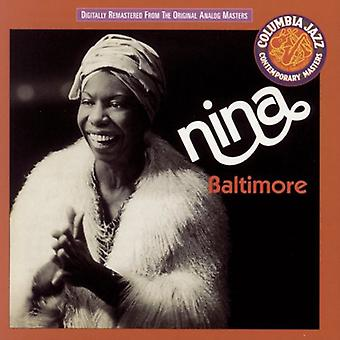 Nina Simone - Baltimore [CD] USA import