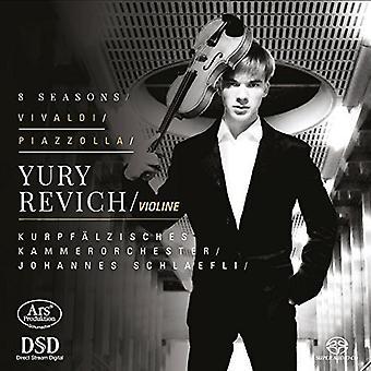 Vivaldi / Revich / Kupfaelzisches Kammerorchester - 8 Seasons [SACD] USA import