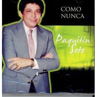 Paquitin Soto - Como Nunca [CD] USA import