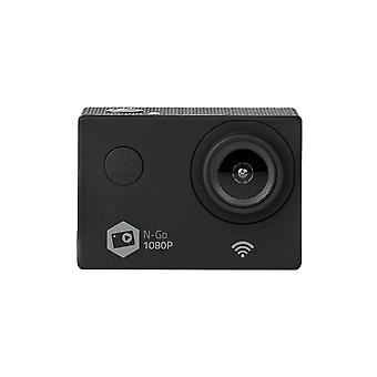 Full HD action kamera 1080p Wi-Fi, svart