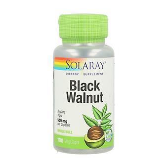 Zwarte Walnoot Hull 100 capsules van 500mg