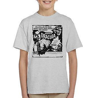 Hammer Horror Filme Dracula Chill des Grabes Zitat Kid's T-Shirt