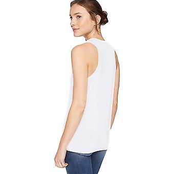 العلامة التجارية - طقوس اليومية المرأة & ق جيرسي Racerback خزان أعلى، أبيض، صغير