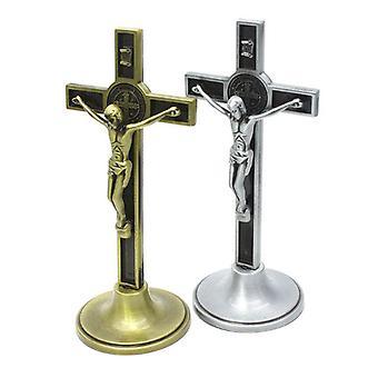 Risti krusifiksi Kristus Katolinen Jeesus Uskonnollinen kirkon koristeluteline - Seinä